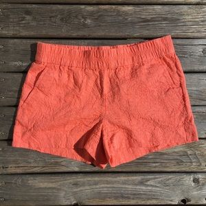 💥5/$25 J. Crew Coral Lace Embroidered Shorts